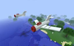 Mig- 15 fighter 1: 1 Scale Minecraft Map & Project