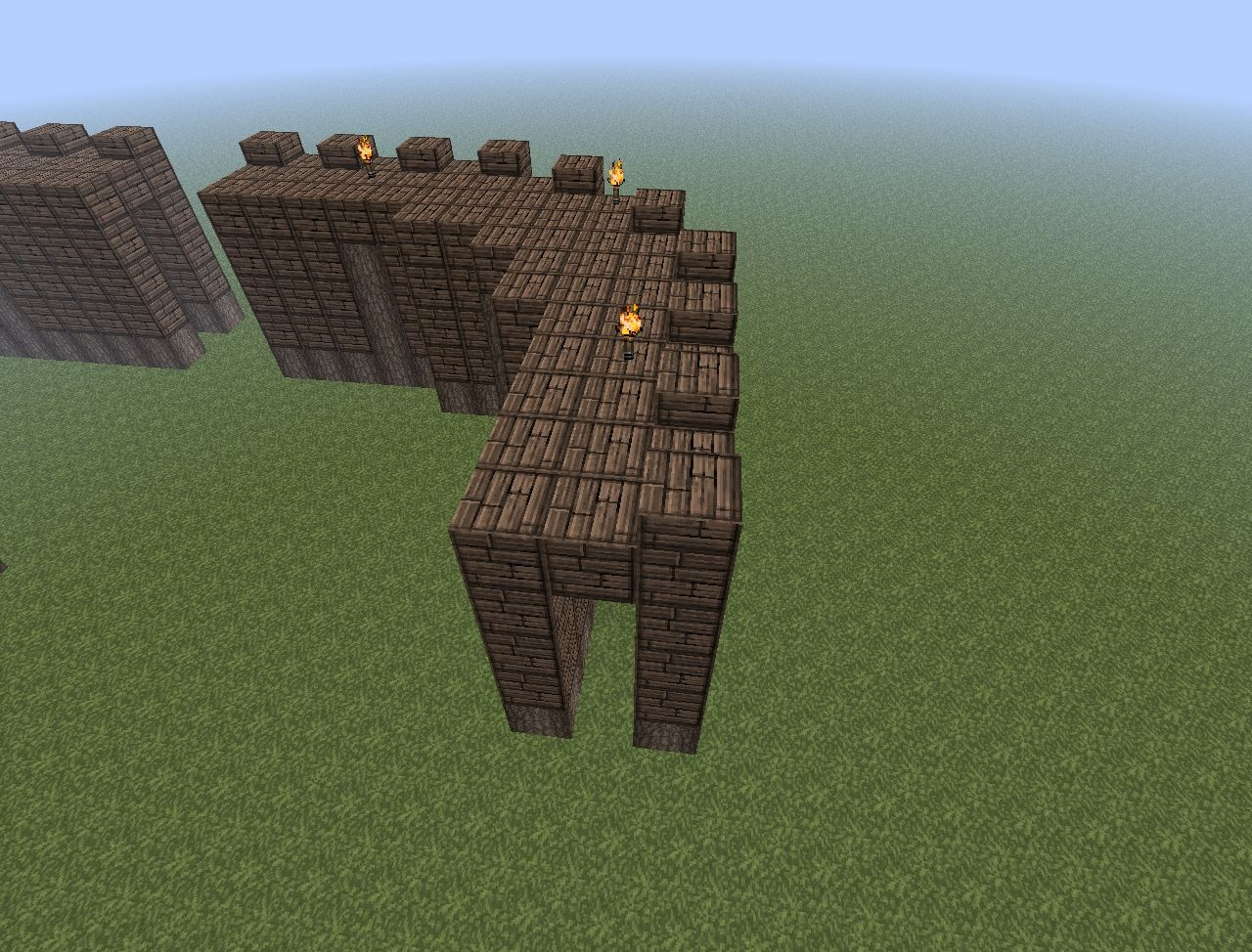Build Your Own Castle Part 1 Wooden Keep Minecraft Project