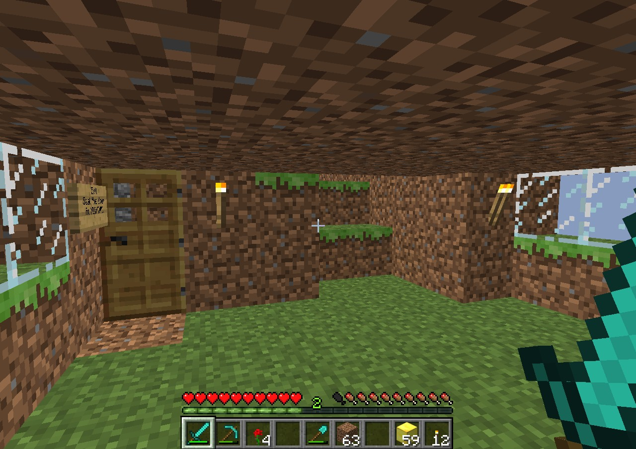 Dirt House Minecraft Project