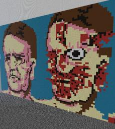 Exploding head strip Minecraft Map & Project