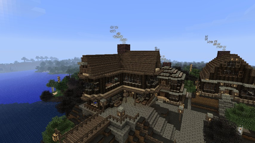The Musket Amp Moose Tavern Inn Minecraft Project