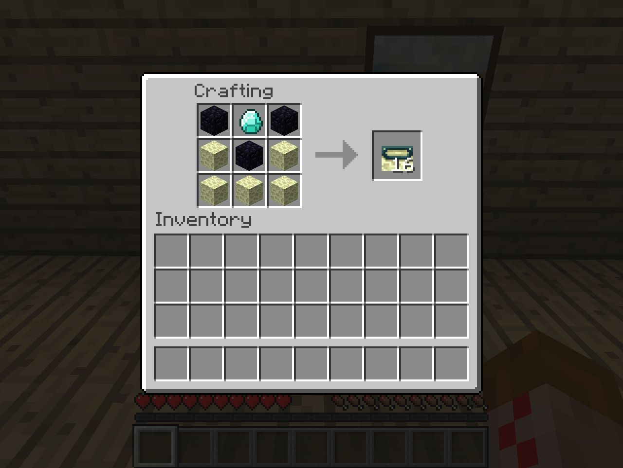 Craftable Ender portal frame! (CAUTION YOU CAN NOT BREAK ONCE PLACED!!!)