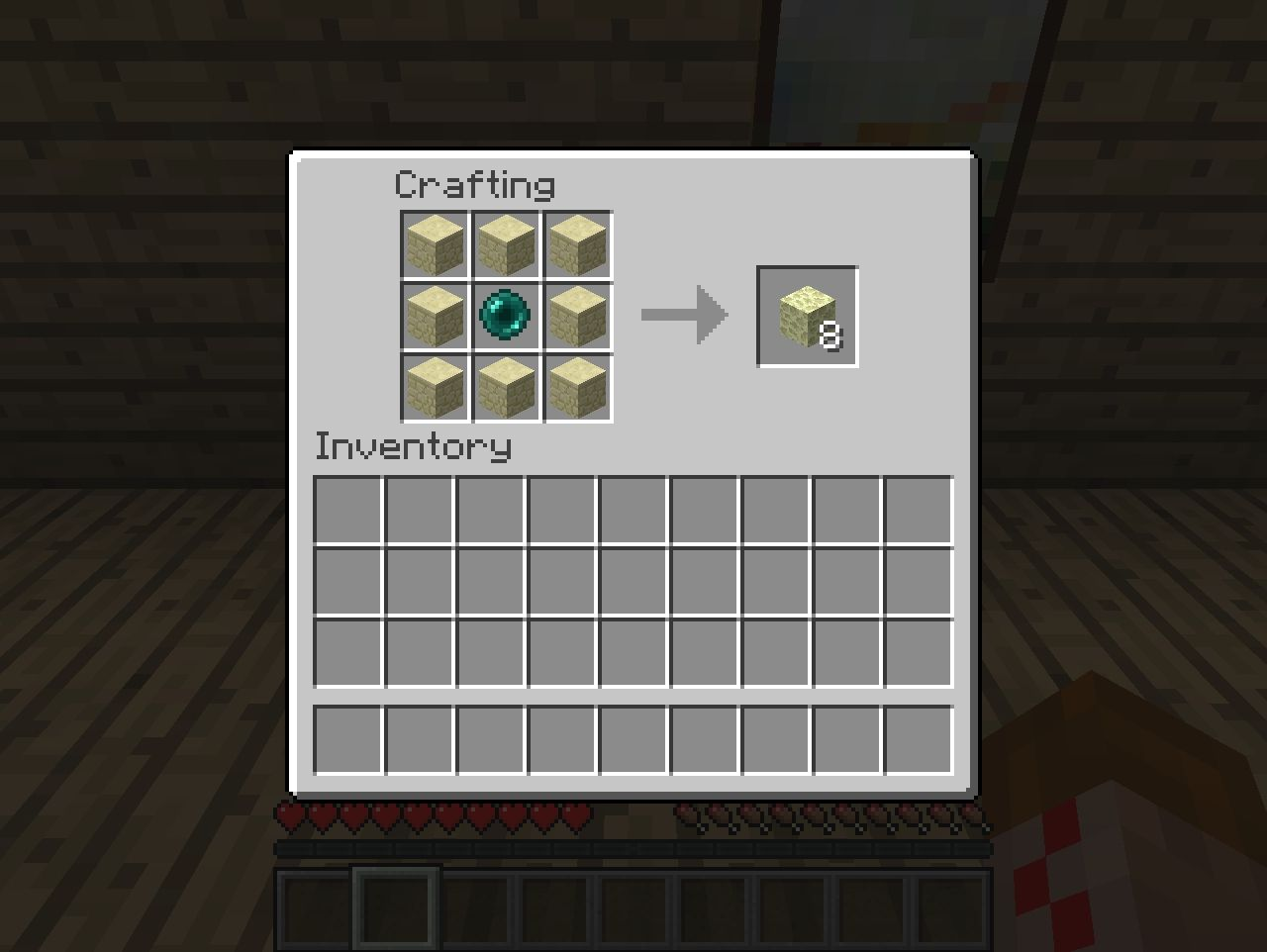 Craftable Enderstone (whitestone)