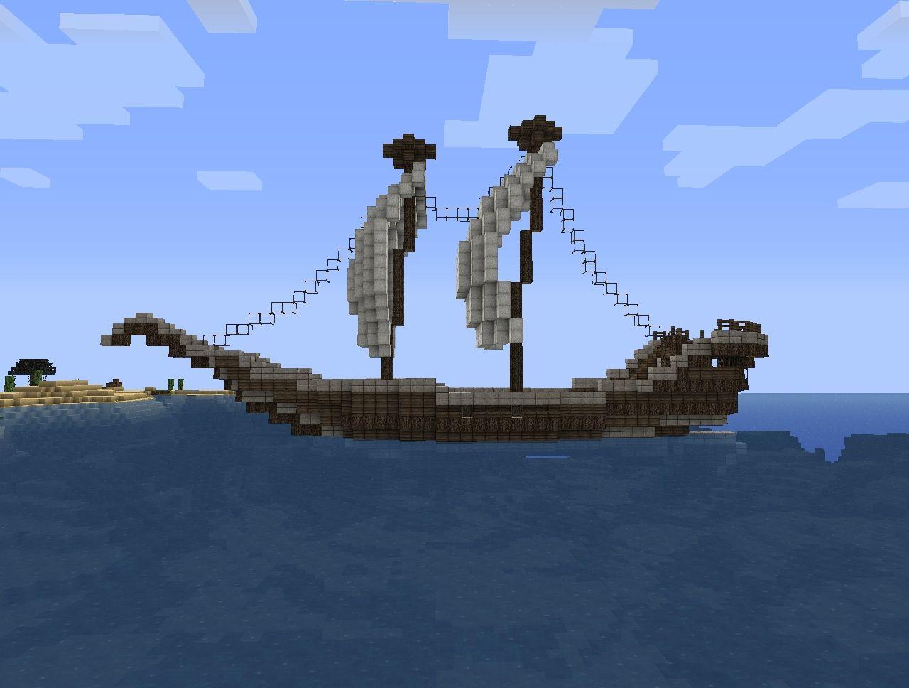 Pirate Ship Design Minecraft Small pirate ship minecraftPirate Ship Minecraft Design