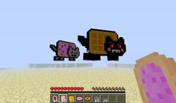 NYAN CAT MOD! Minecraft Blog Post