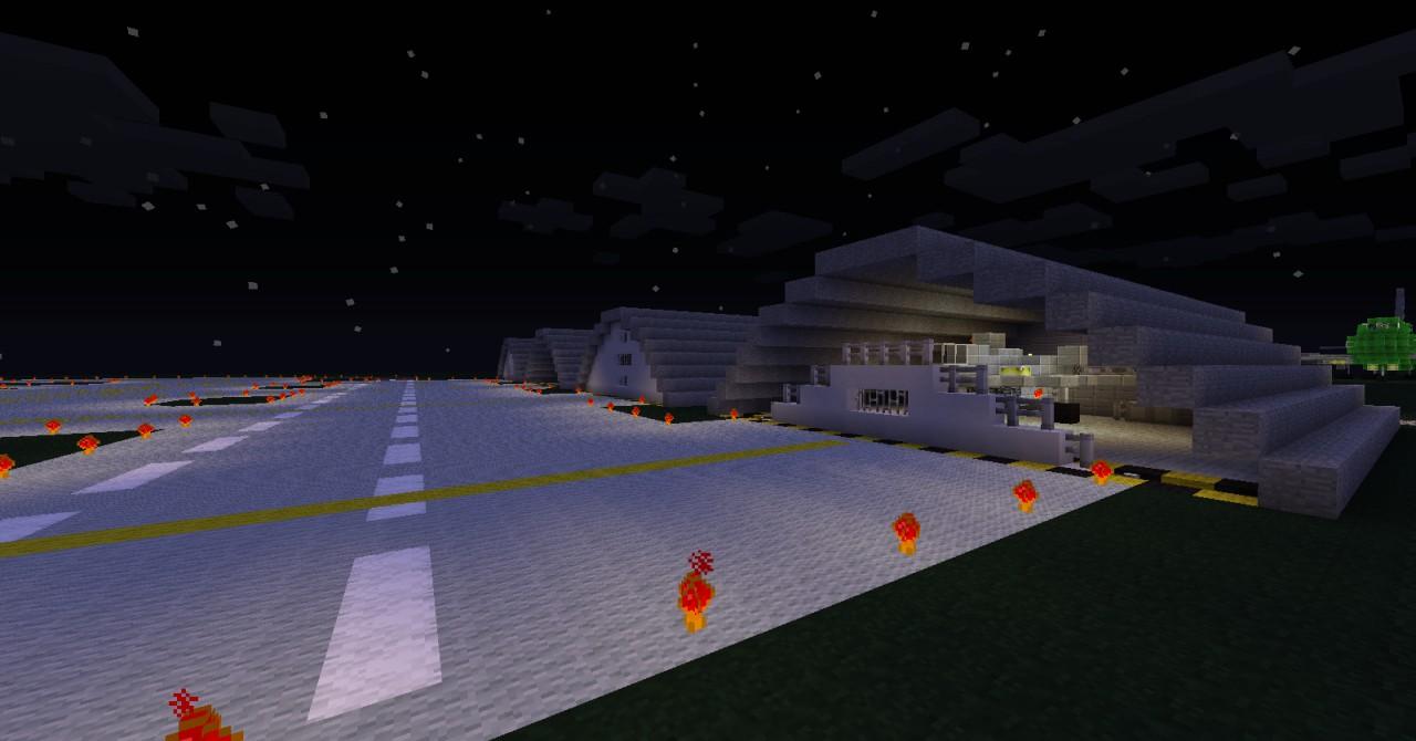 the hangars