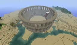 Colosseum: Gladiators vs. Creepers Minecraft Map & Project