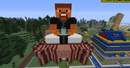 My skin Budda-like statue Minecraft Map & Project