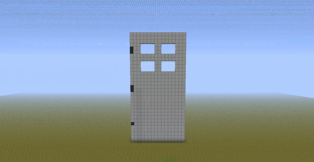 How To Craft A Iron Door In Minecraft
