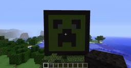 Creeper face Minecraft Map & Project