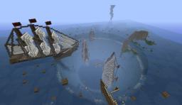 Lost in Bermuda Triangle - Survival - 3.01.2012 UPDATE 1 Minecraft Map & Project