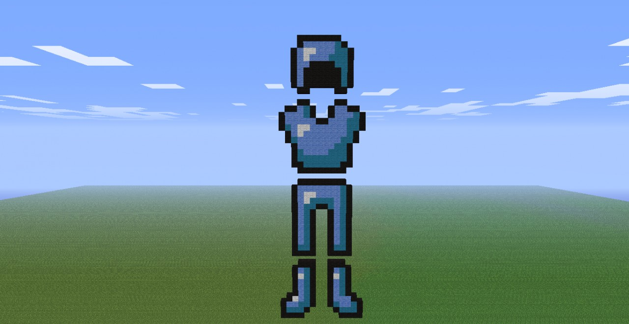 Diamond Armor Minecraft Project