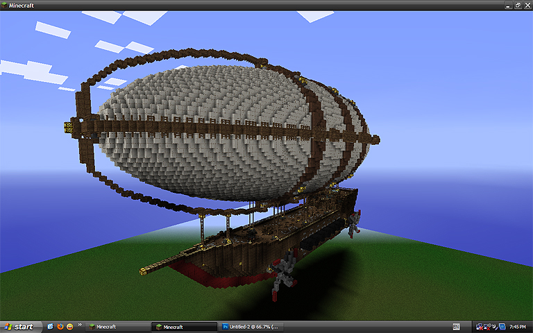 Steampunk Airship Minecraft Project