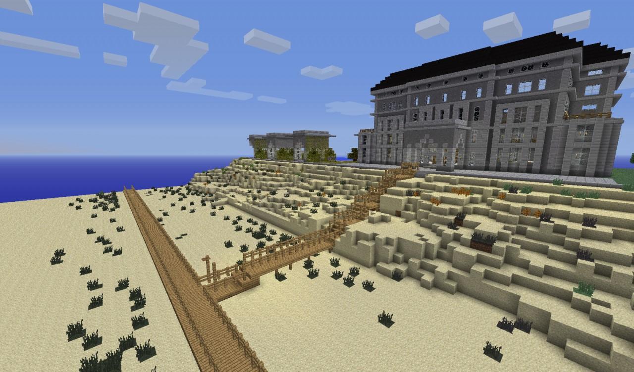 Minecraft Buildings Beach