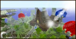 Minecraft Timelapse - Harbour Village Minecraft