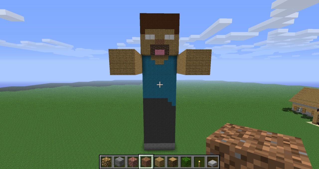 how to make herobrine appear in minecraft