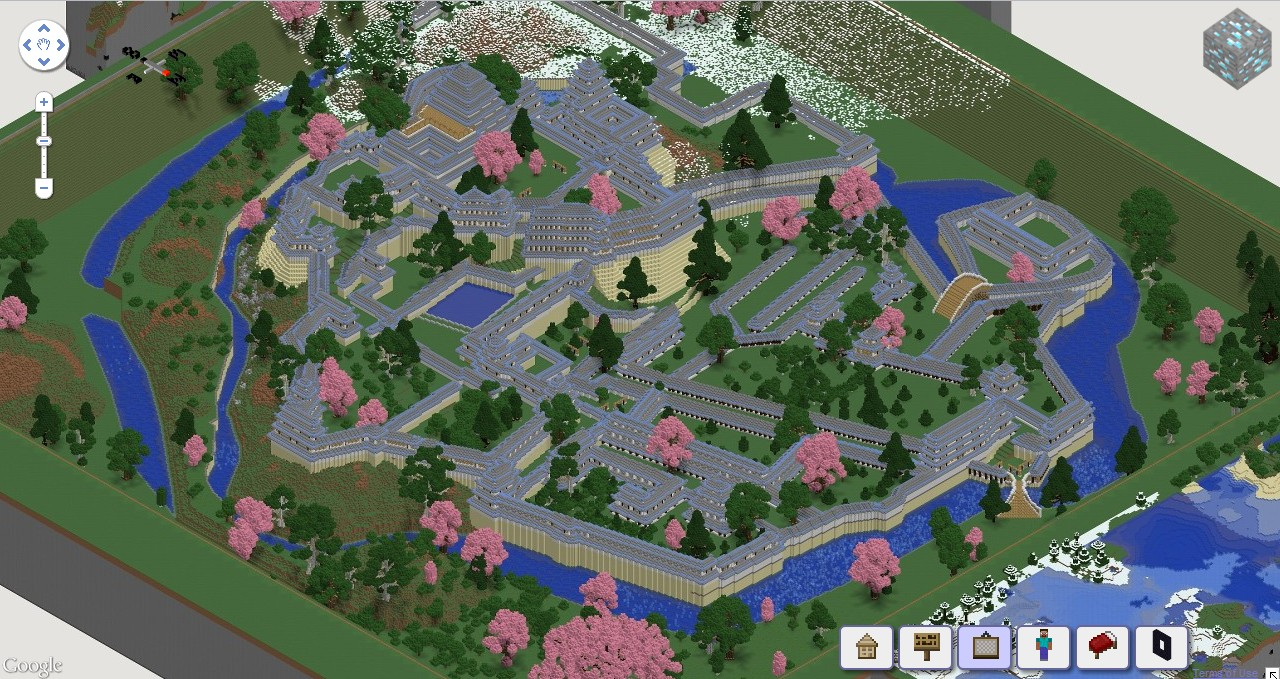 adventure map servers with Himeji Jo Himeji Castle  Plex Wip on Alfhiem Online Map From Sword Art Online in addition Traverse Town moreover Mount Everest Adventure Map moreover My Little House Pixel Art additionally Himeji Jo Himeji Castle  plex Wip.