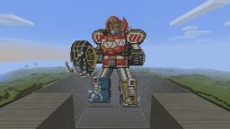 Mighty Morphin Power Rangers Megazord Minecraft