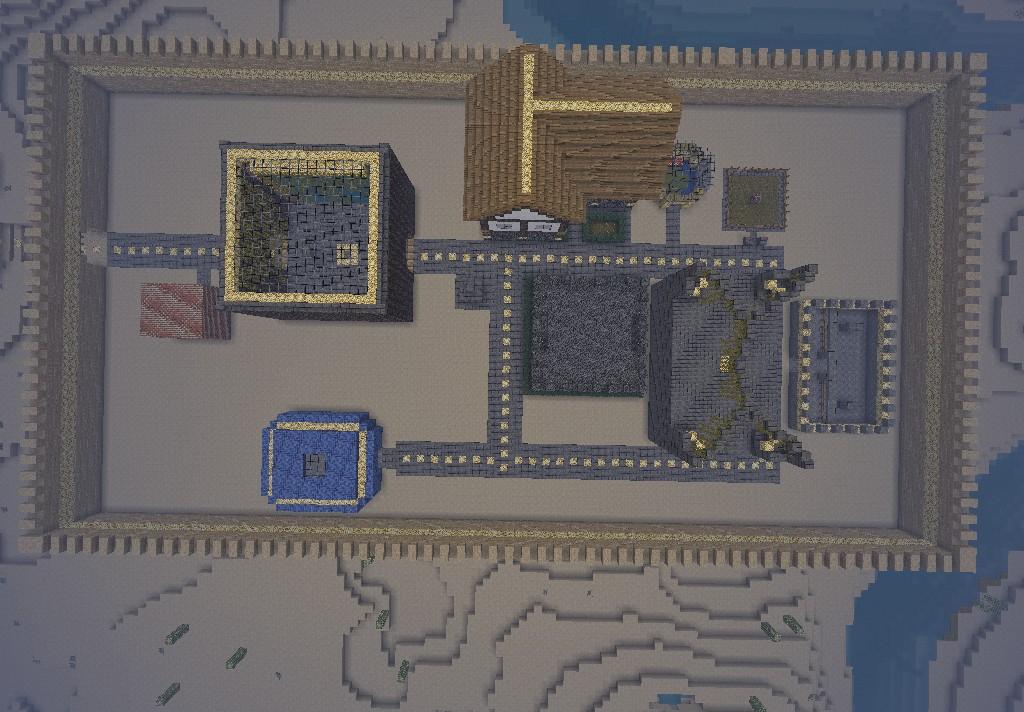 Server Villa Minecraft Project