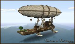 Chateau De Lufthausen - Flying mansion Minecraft Map & Project