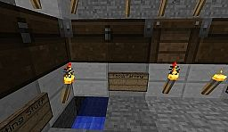 Automatic wheat harvester Minecraft Map & Project