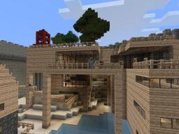 Village with Networking\Telegraph System Minecraft Map & Project