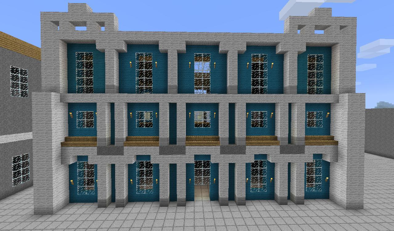 Minecraft Modern City Buildings