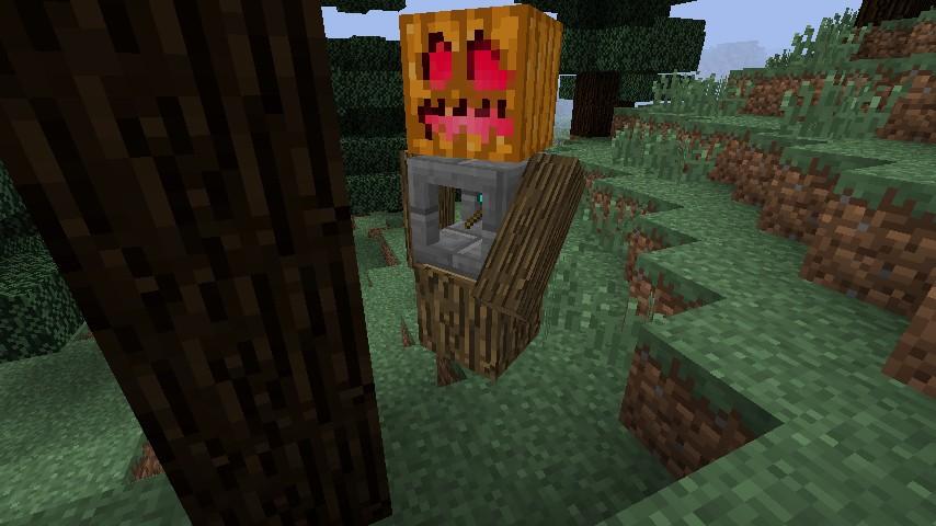 Lumberjack going to work!