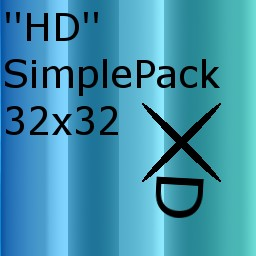 ''HD'' SimplePack 32x32 (not finished)