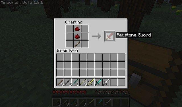 Redstone Sword