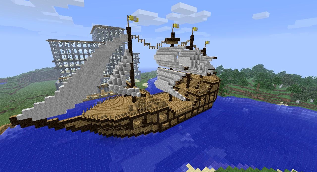 Minecraft Pirate Ship Design Pirate-ship-454621Pirate Ship Minecraft Design