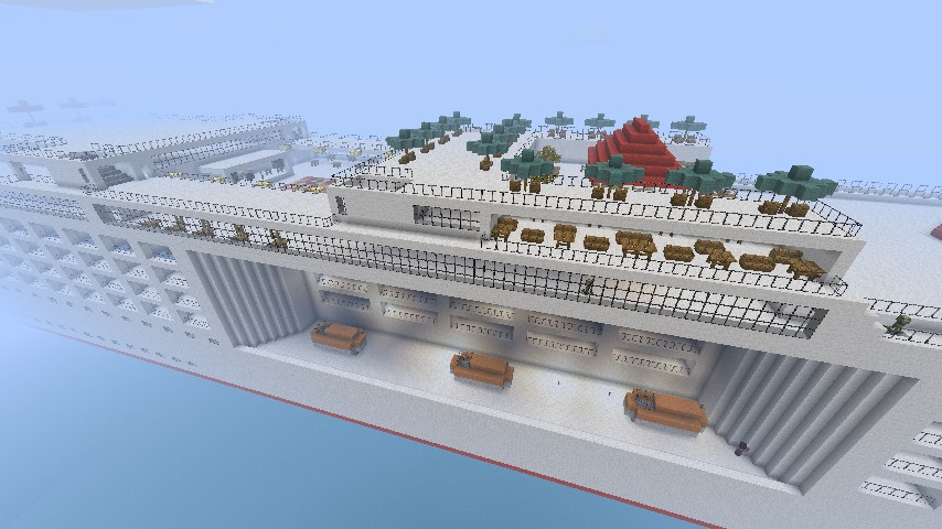 Carnival Miracle Biggest Cruise Ship In Minecraft One Of