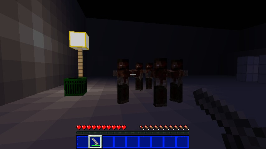The walking dead minecraft texture pack for Crafting dead server download