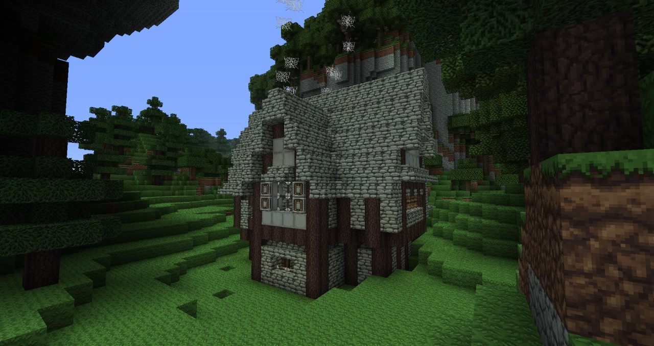 how to build a medieval inn in minecraft