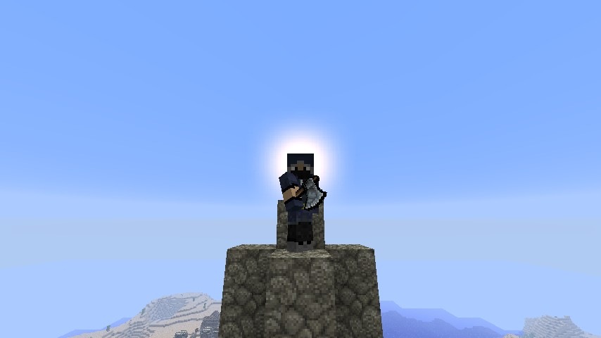Me standing on the highest peak.