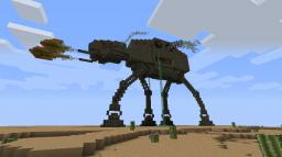 Steampunk inspired, Steam powered AT-AT walker... Full of steamy goodness! ;) Minecraft