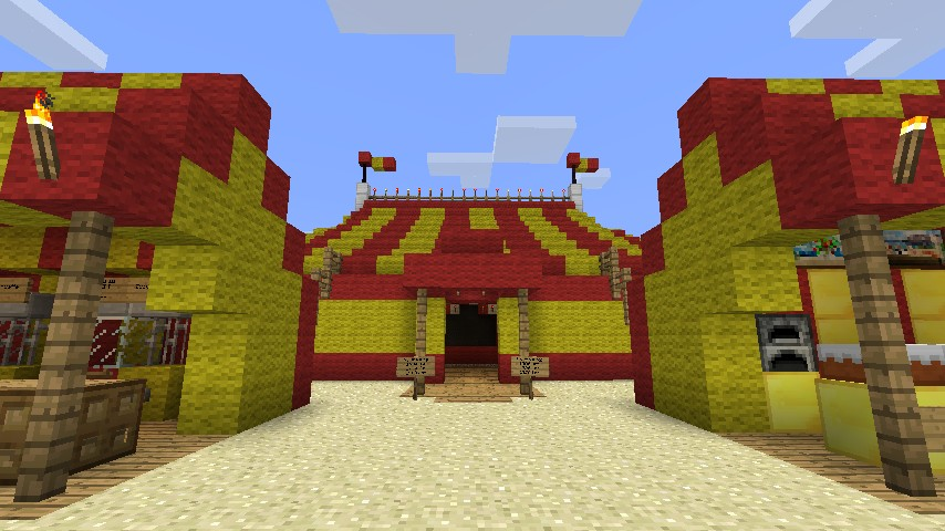 traveling circus minecraft project