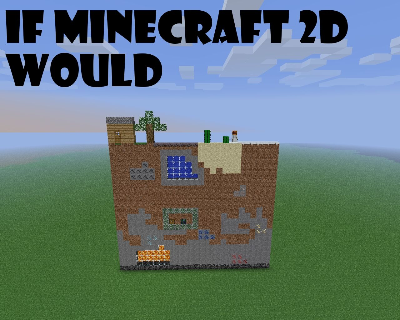 Crafted - 2d minecraft for iphone and ipod - 6d