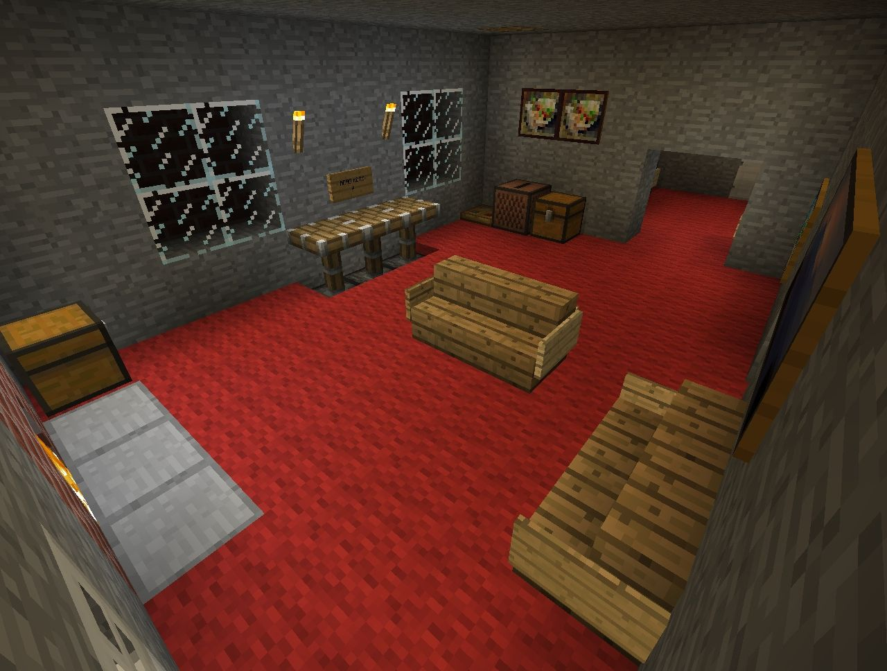 Minecraft ~1408~ Horror/Escape map! OFFICIAL Minecraft Project