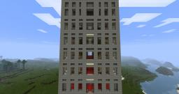 Skyscraper Modern apartment Minecraft Map & Project