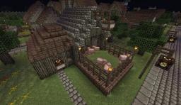 Medieval Butcher Shop Minecraft