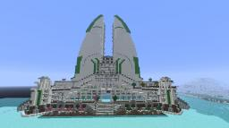 Eco-Tower from Anno2070 Minecraft Project