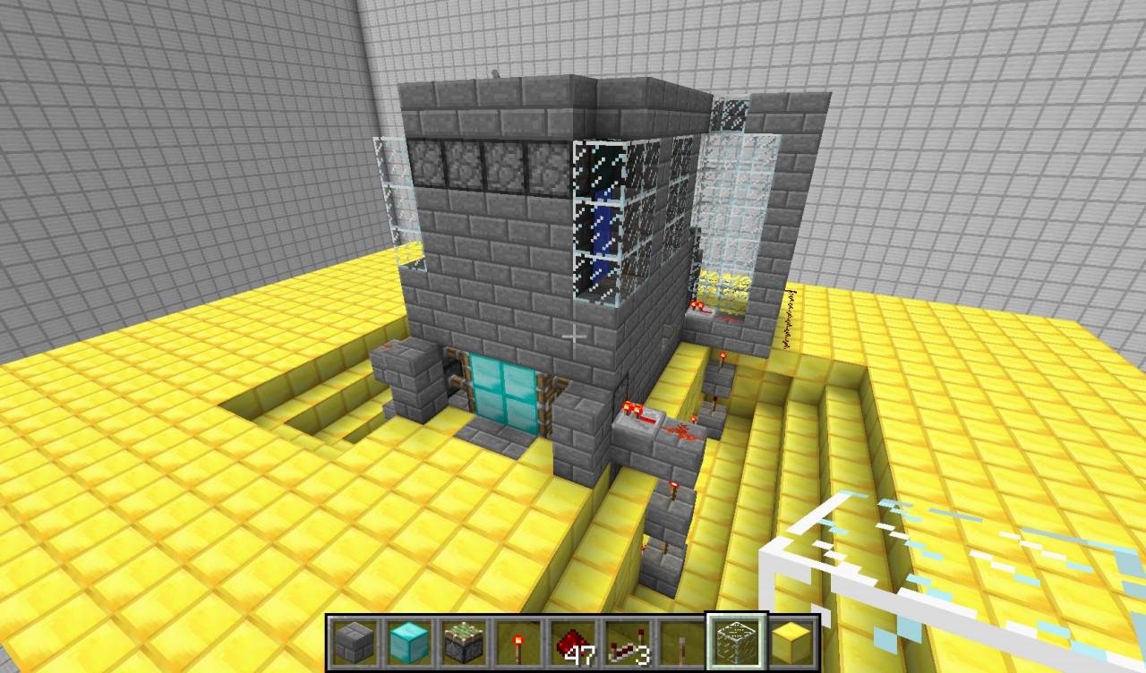 Underwater Airlock Minecraft Project