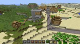 a village seed with 2 rare villagers Minecraft Map & Project