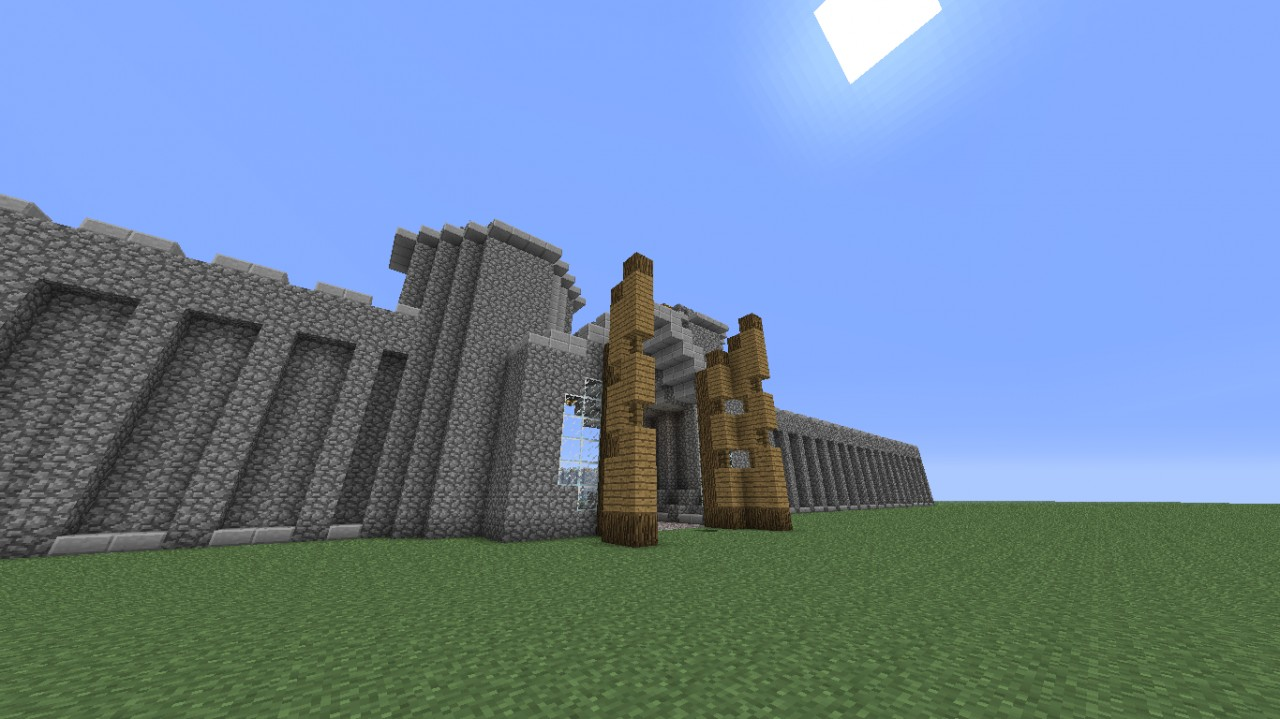 Castle Walls Minecraft Project