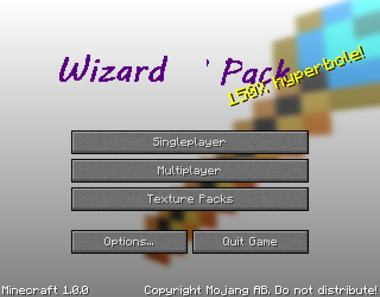 Trendy new title-screen!( doesn't look as buggy in current version!)