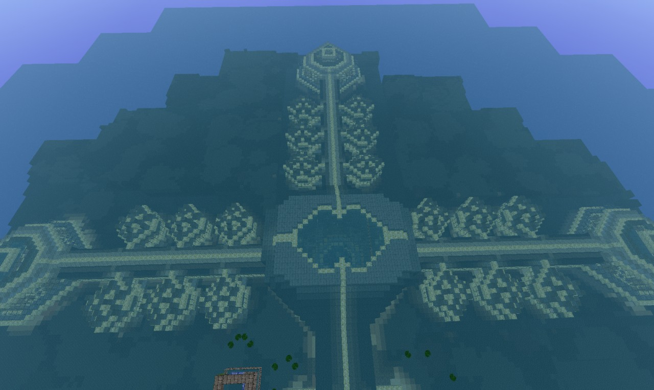 Epic Underwater Village Minecraft Project