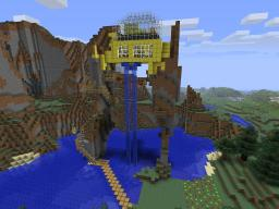 Golden House Minecraft Map & Project