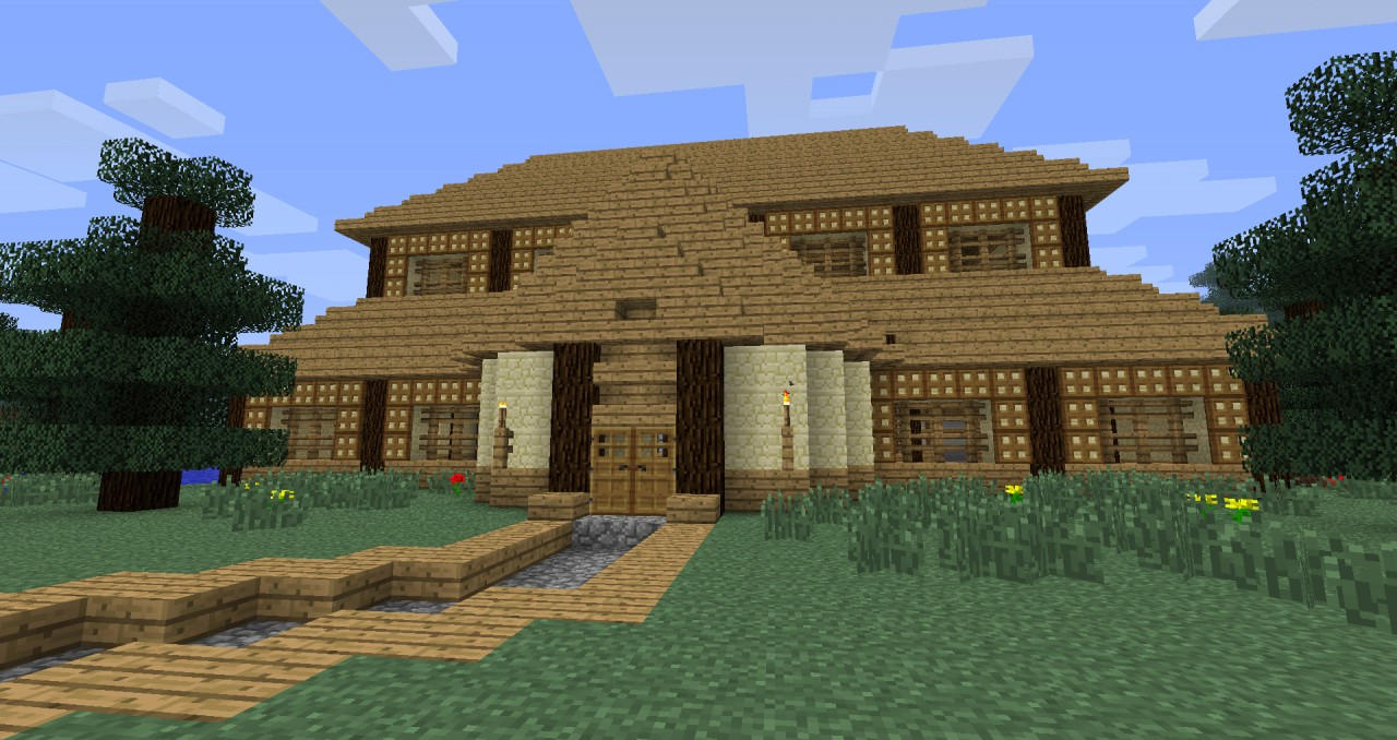 My fancy pants house i just made d minecraft project - Fancy houses ...