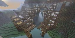 The Market city of Lindblum Minecraft Map & Project